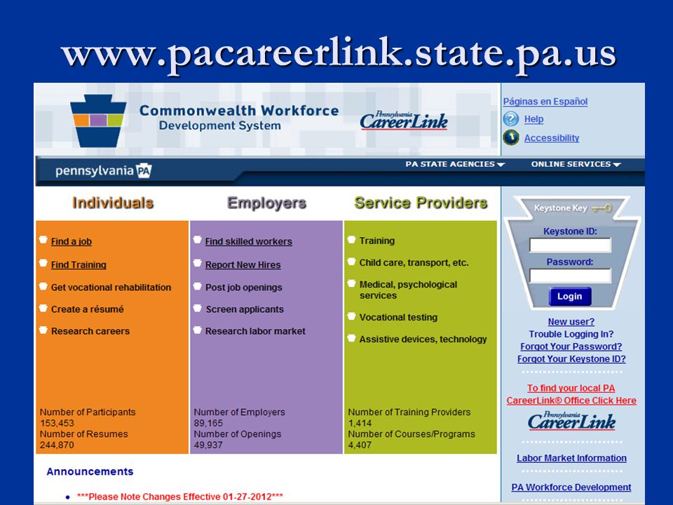 www.pacareerlink.state.pa.us