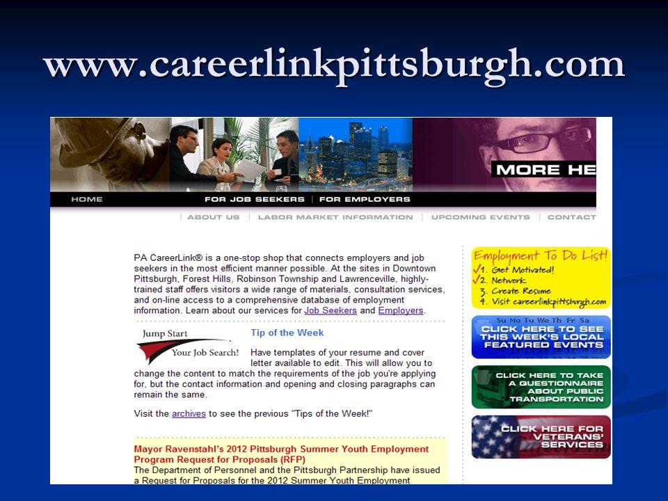 www.careerlinkpittsburgh.com