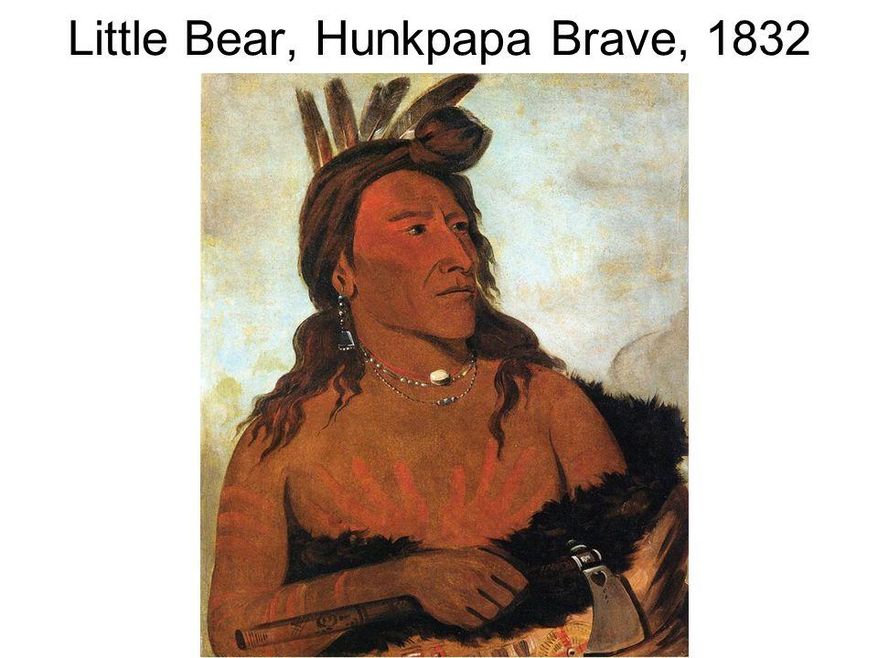 Little Bear, Hunkpapa Brave, 1832