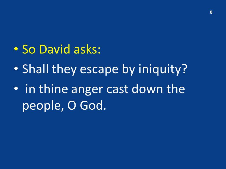 III.David's assurance – vs.