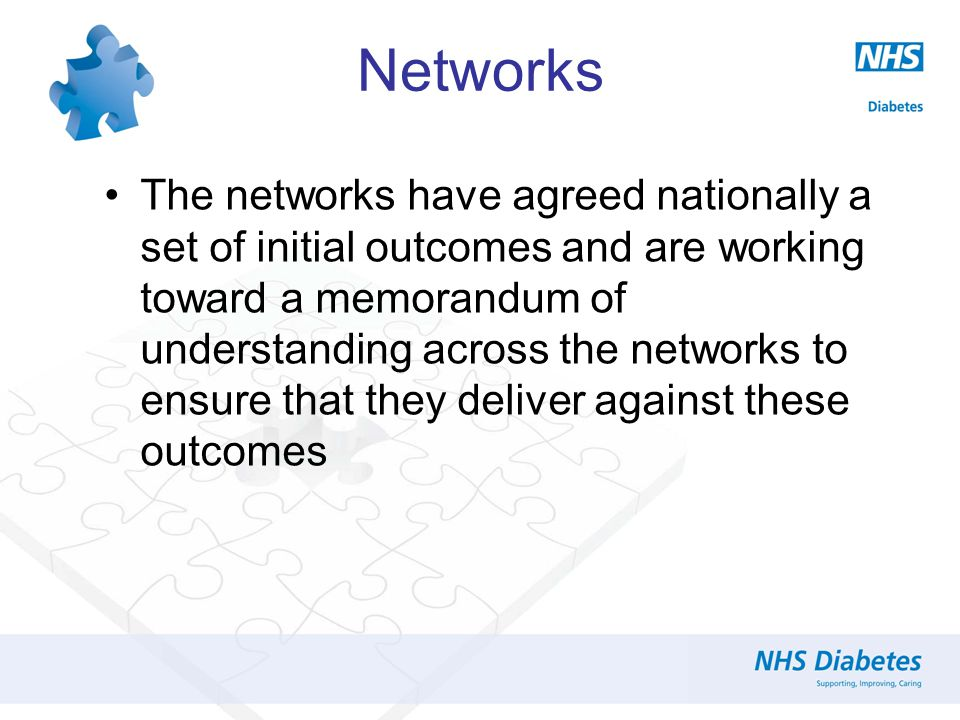 Where Now For Paediatric Diabetes Networks And Tariff Is It Up To You?
