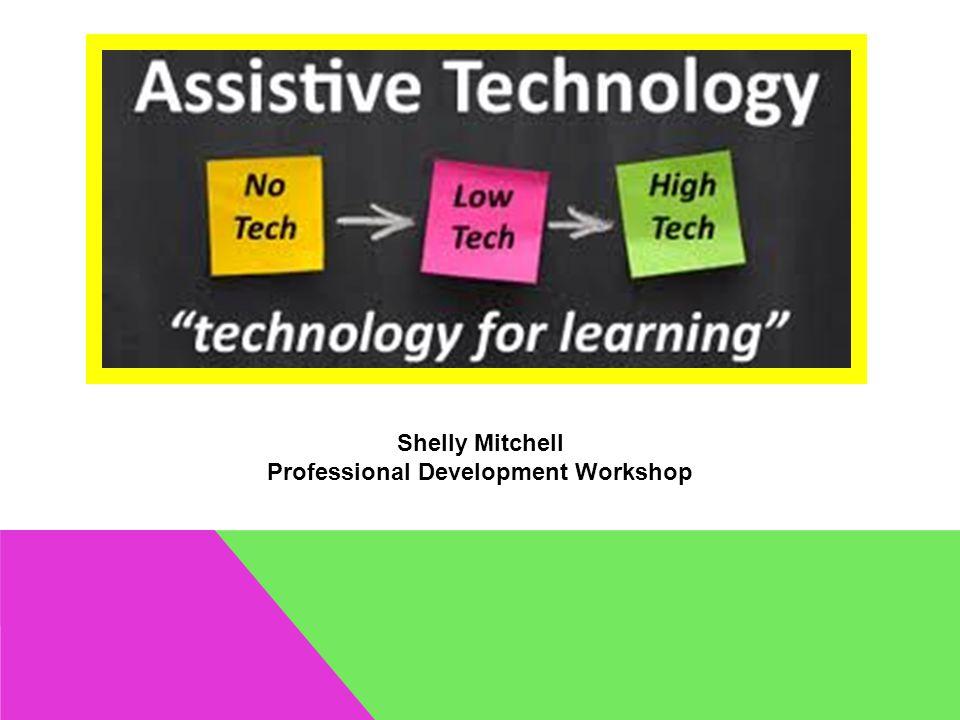 Shelly Mitchell Professional Development Workshop