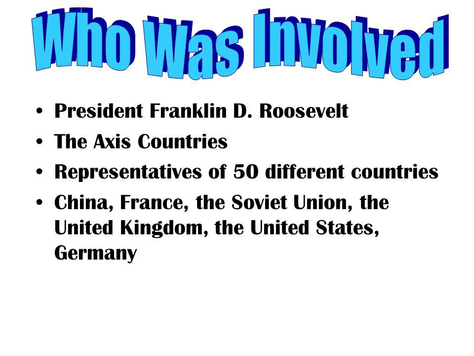 President Franklin D.