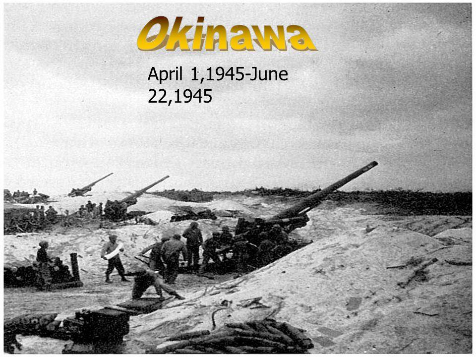 April 1,1945-June 22,1945