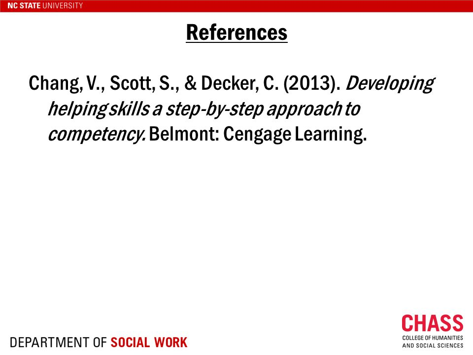 Chang, V., Scott, S., & Decker, C. (2013).