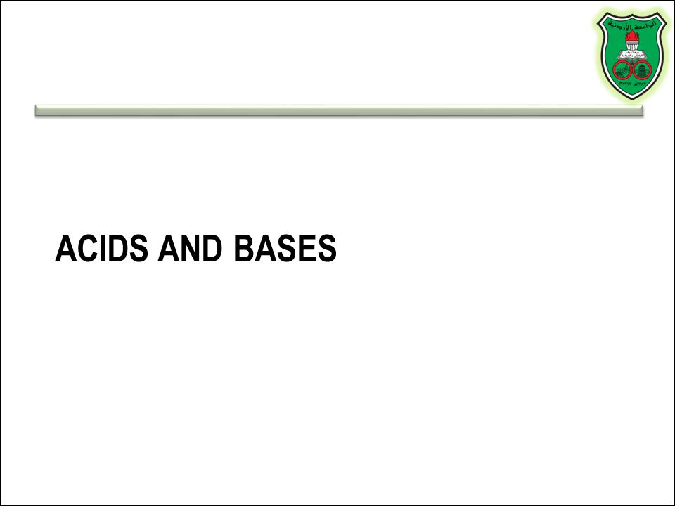 Acids versus bases Acid: a substance that produces H+ when dissolved in water (e.g., HCl, H 2 SO 4 ) Base: a substance that produces OH - when dissolved in water (NaOH, KOH) What about ammonia (NH 3 )?