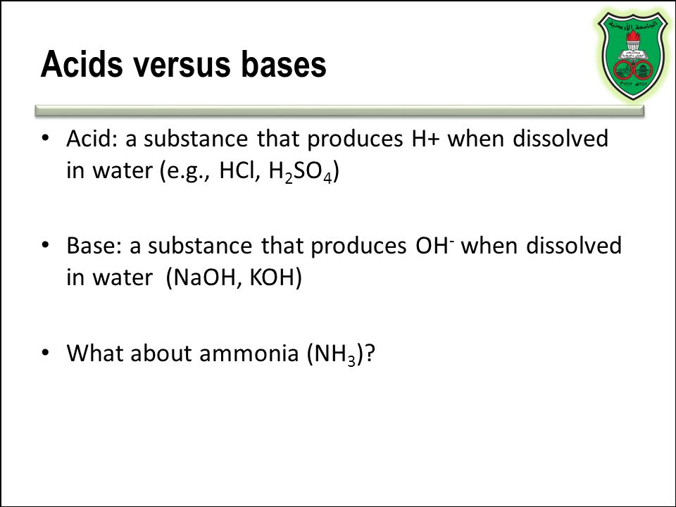 Calculations… The ratio of bicarbonate to carbonic acid determines the pH of the blood – Normally the ratio is about 20:1 bicarbonate to carbonic acid Blood pH can be calculated from this equation: – pH = pK + log (HCO 3 - /H 2 CO 2 ) – pK is the dissociation constant of the buffer, 6.10 – H 2 CO 3 =0.03 x pCO 2