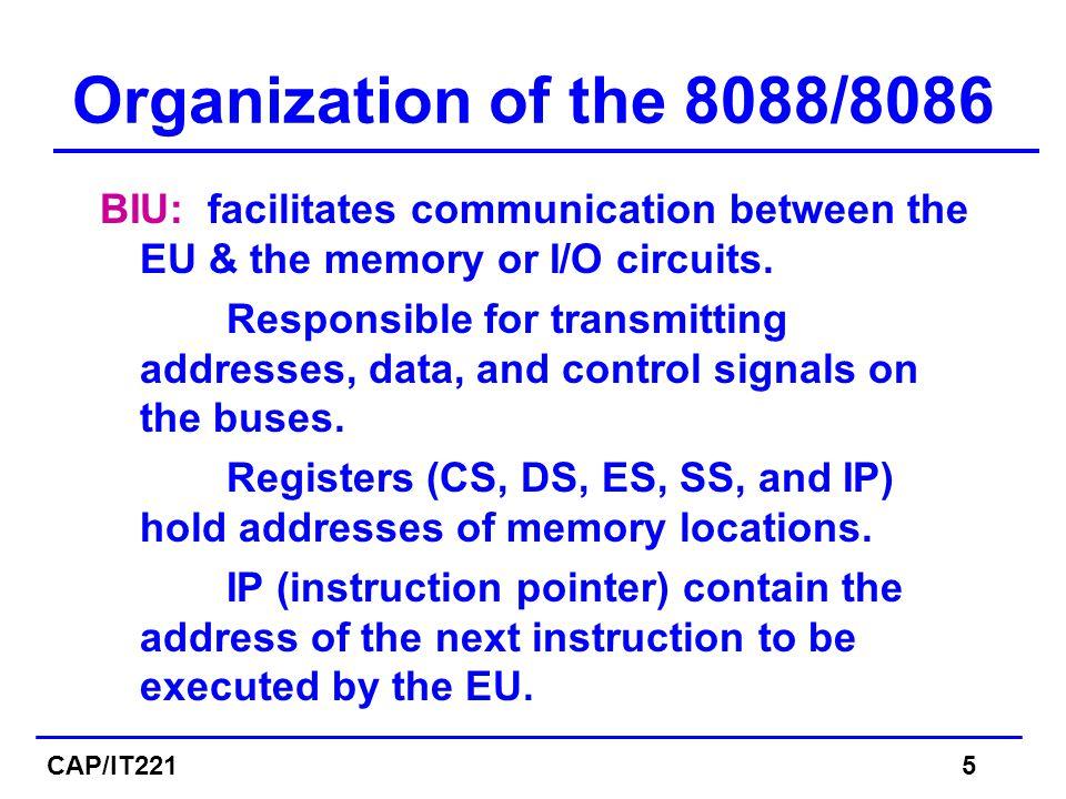 Solution a)Segment 1256 : offset = 1256A - 12560 = A Address  1256 : 000A b)Segment 1240 : offset = 1256A - 12400 = 0016A Address  1240 : 016A CAP/IT22126