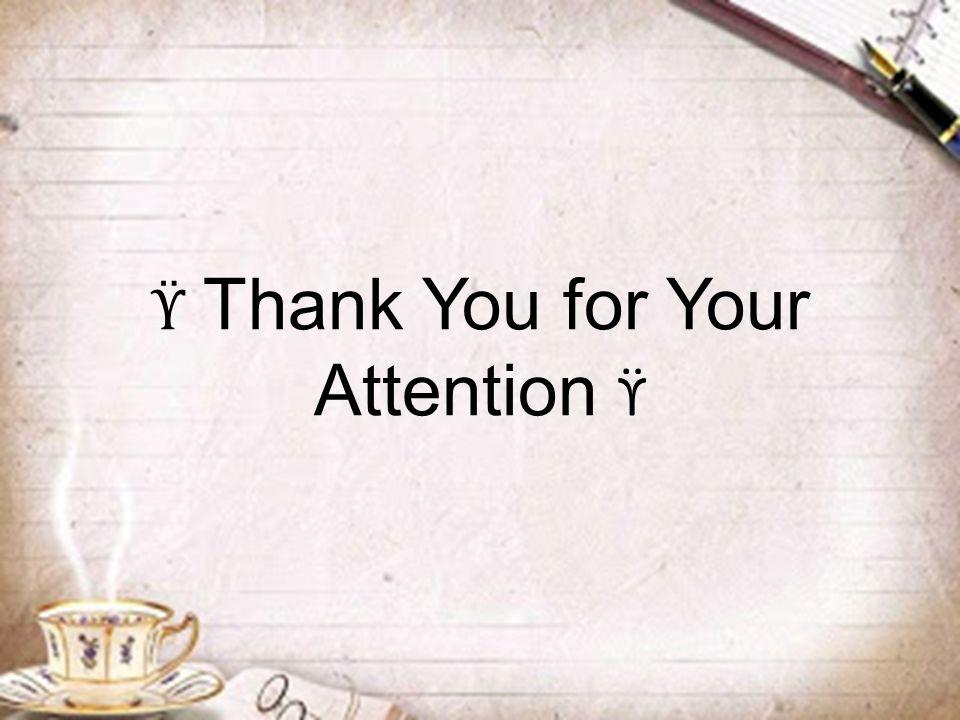 ϔ Thank You for Your Attention ϔ