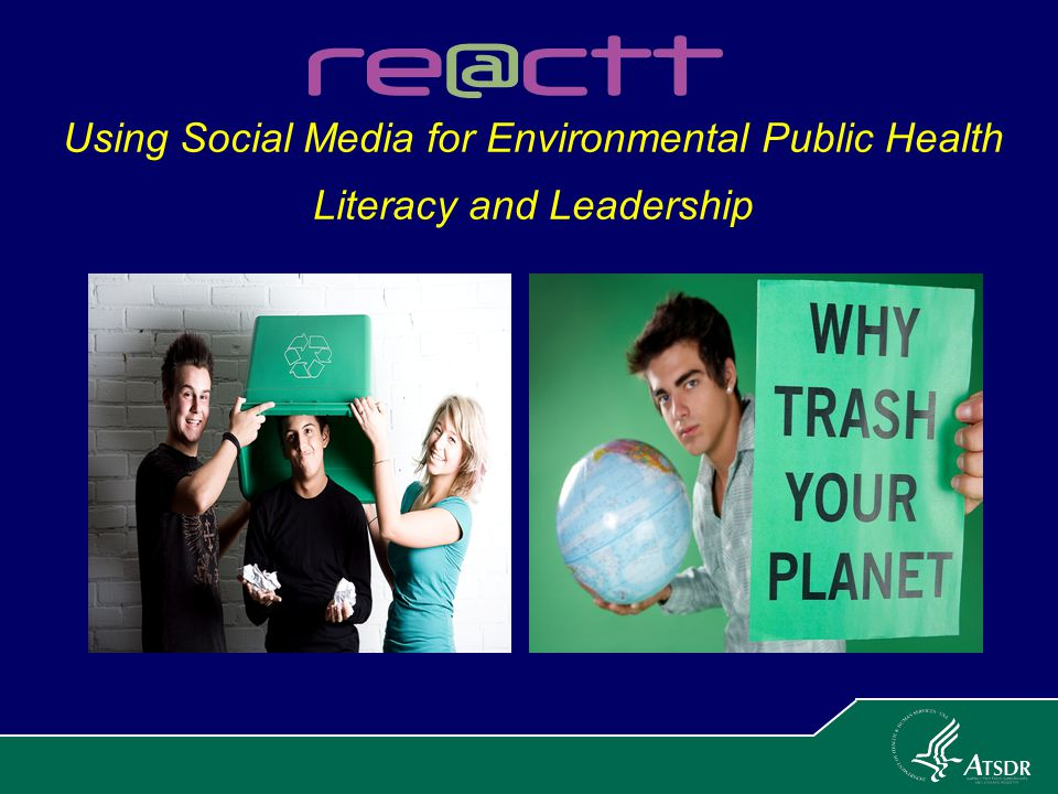 Using Social Media for Environmental Public Health Literacy and Leadership