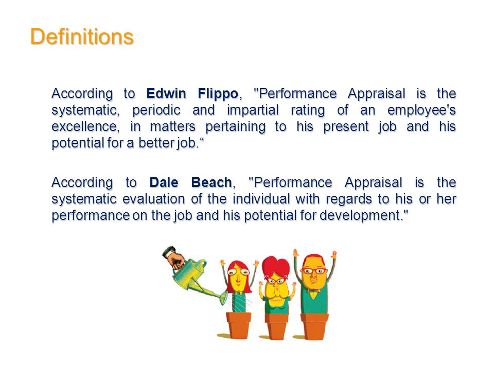 Definitions According to Edwin Flippo,