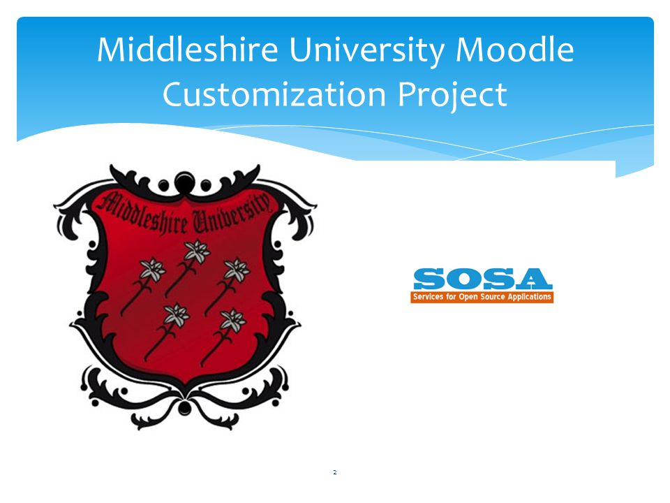 2 Middleshire University Moodle Customization Project