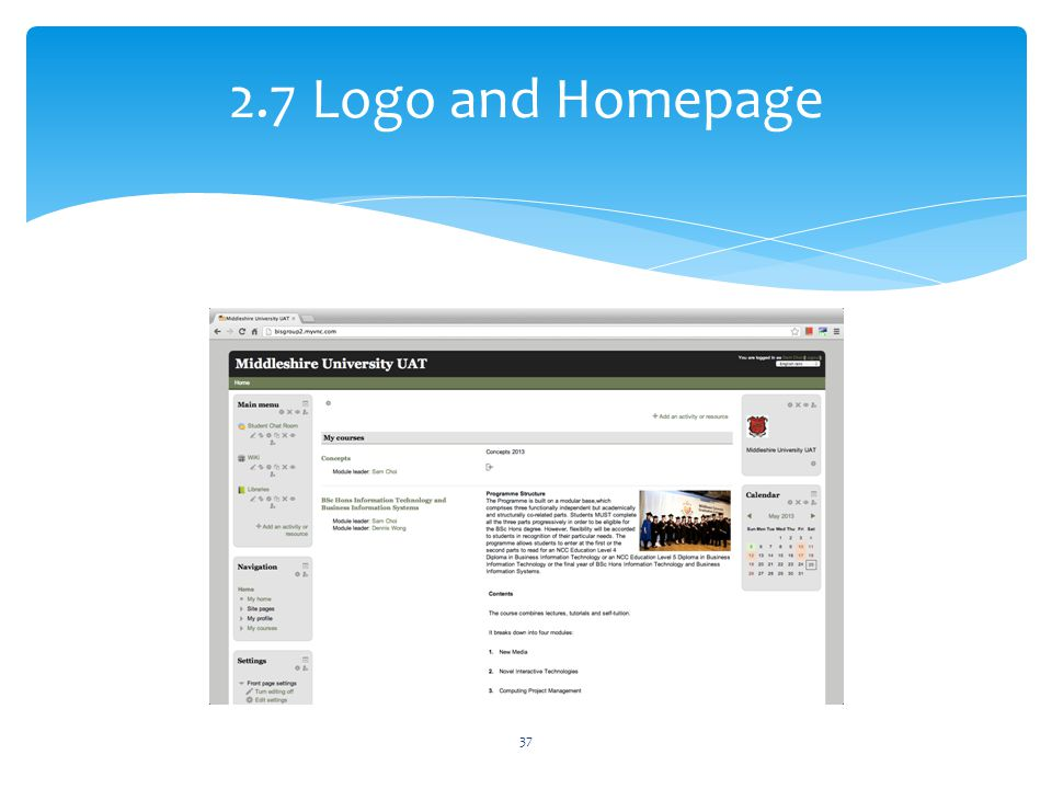 2.7 Logo and Homepage 37