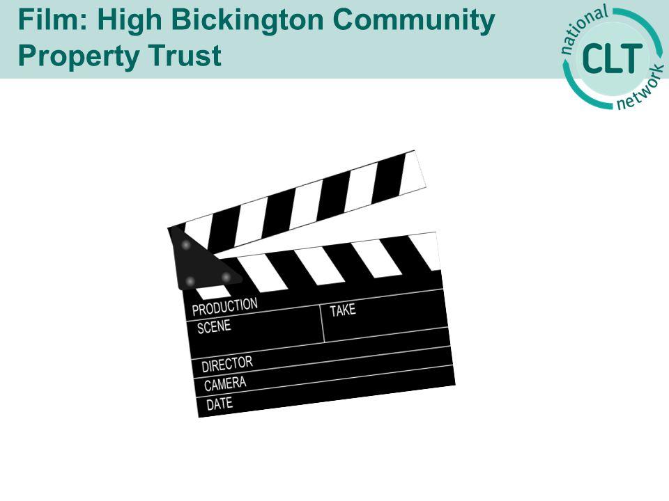 Film: High Bickington Community Property Trust