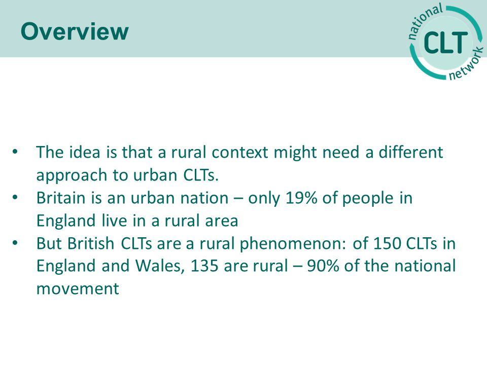 The context: Introducing rural Britain