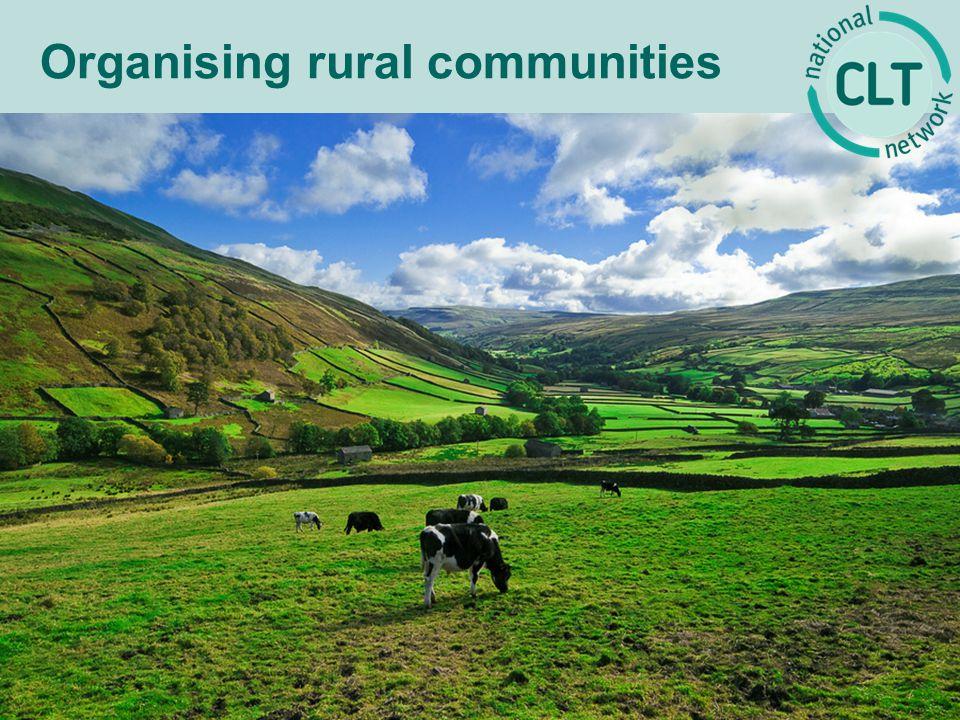 Organising rural communities