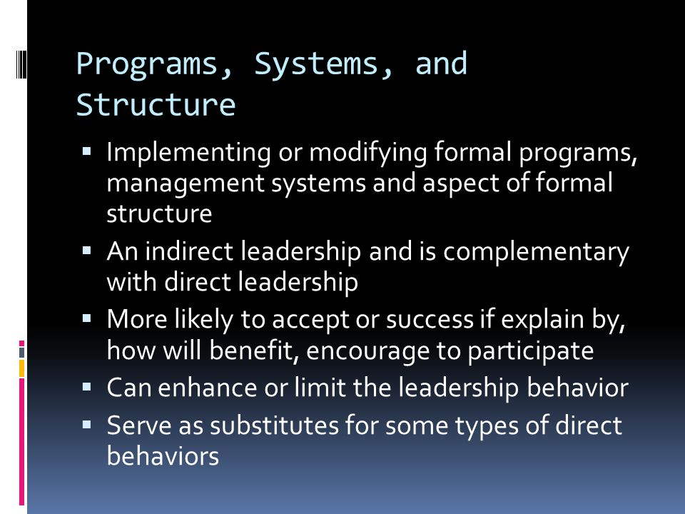 CASE STUDY OF STRATEGIC LEADERSHIP  Study the influences of the CEO on the performances.