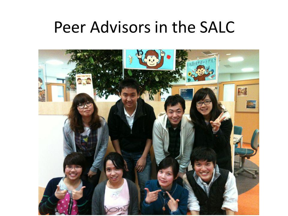 Peer Advisors in the SALC