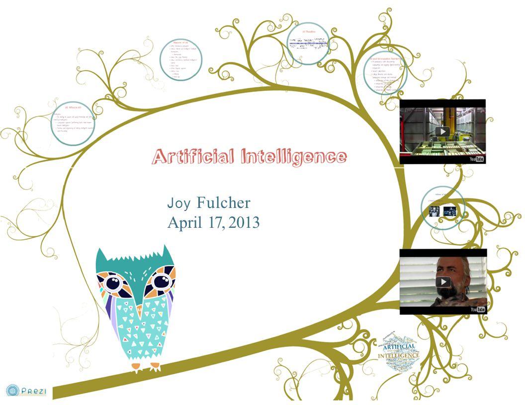 Joy Fulcher April 17, 2013