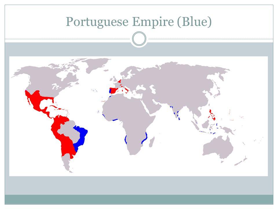 Portuguese Empire (Blue)