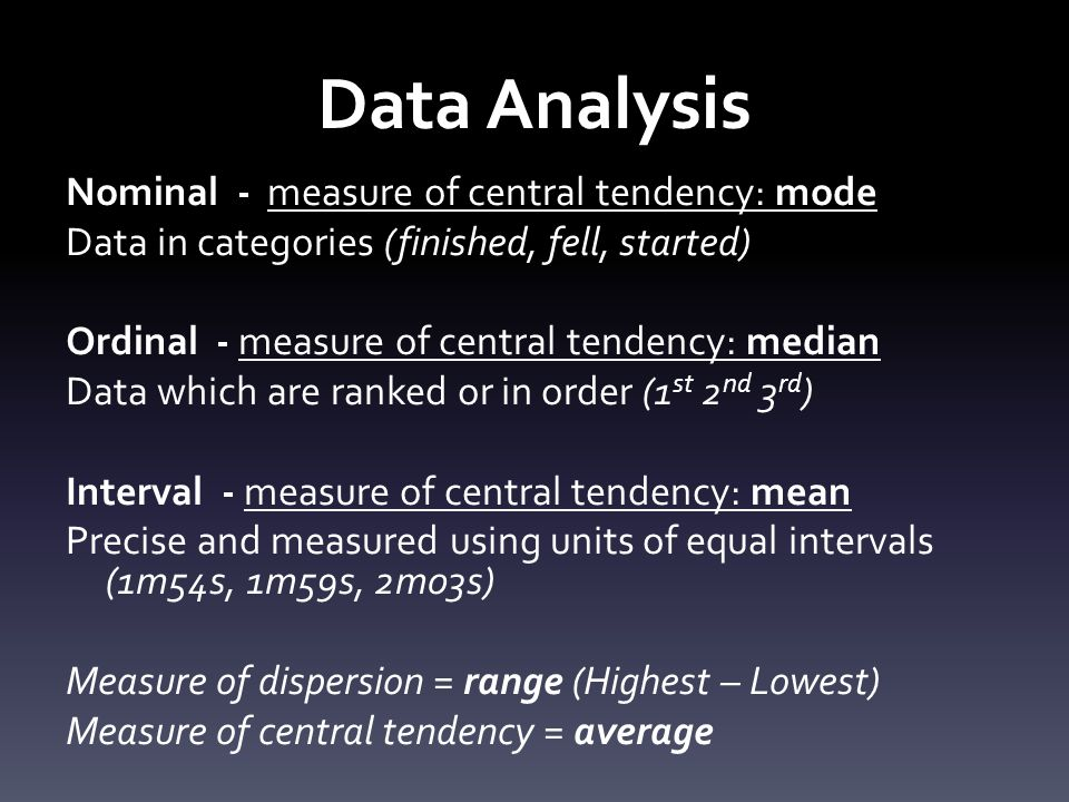 StrengthWeakness MeanMakes use of all the values in a data set.