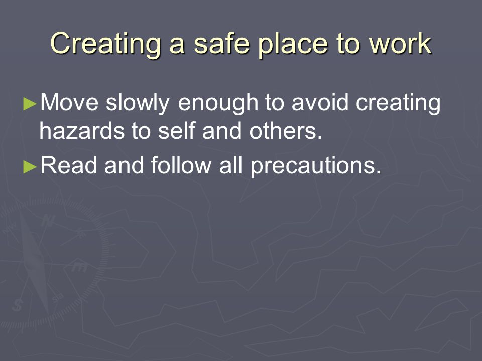 What protective clothing and devices should be worn in the shop.