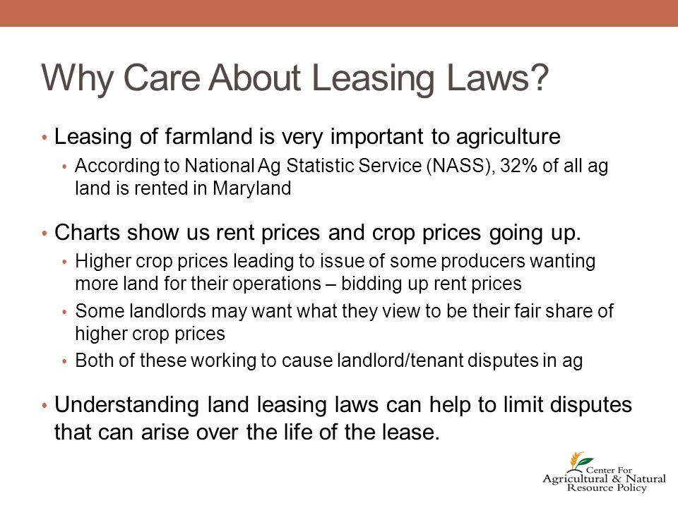 Overview To be valid a lease needs: 1.Valid contract 2.