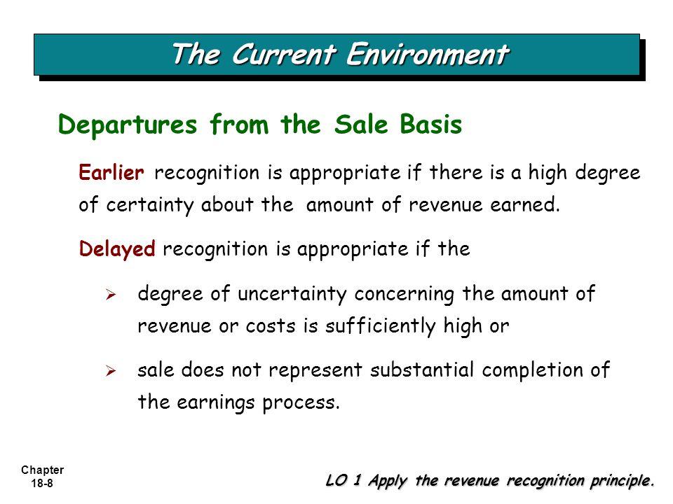 Chapter 18-59 Franchises LO 8 Explain revenue recognition for franchises and consignment sales.