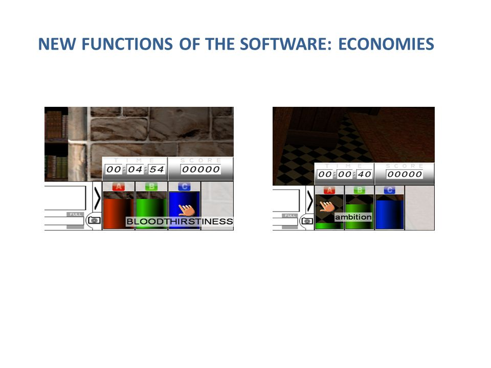 NEW FUNCTIONS OF THE SOFTWARE: ECONOMIES