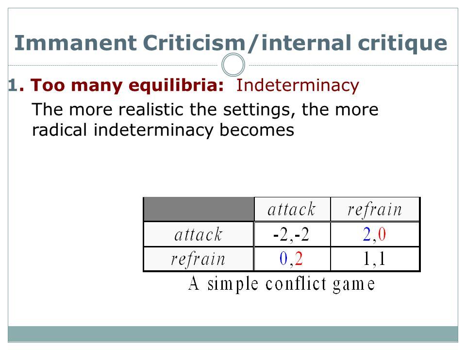 Immanent Criticism/internal critique 1.