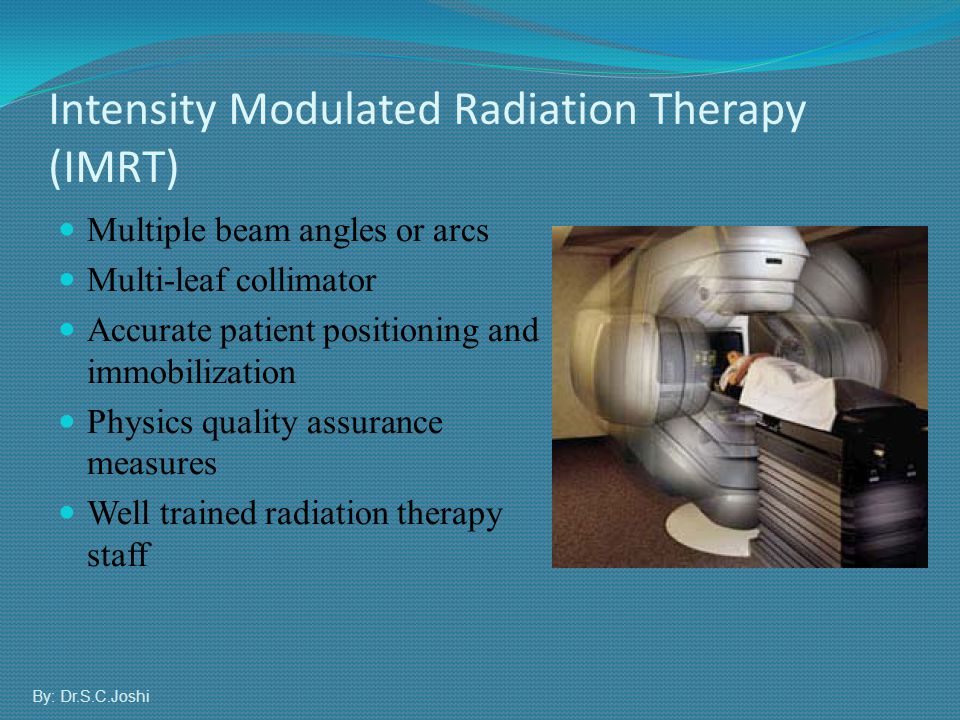 Multiple beam angles or arcs Multi-leaf collimator Accurate patient positioning and immobilization Physics quality assurance measures Well trained rad