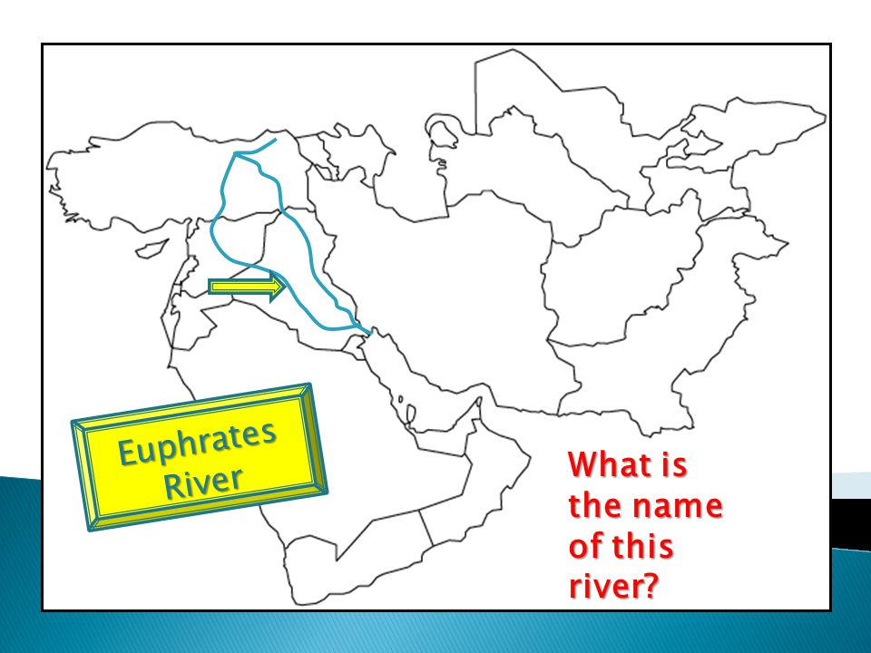 What is the name of this river? Euphrates River