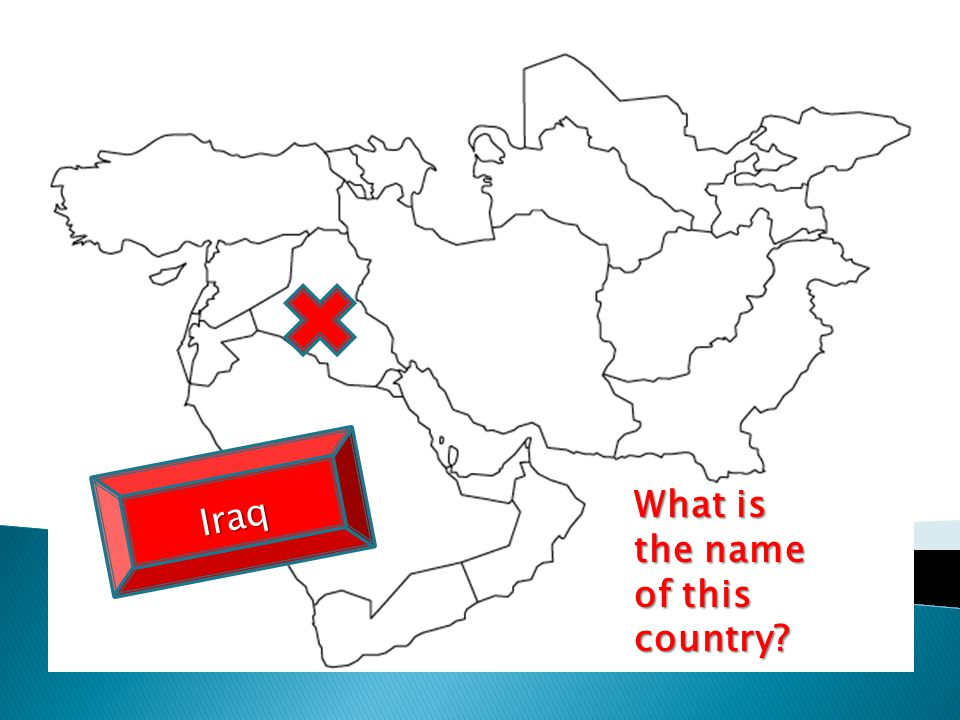 What is the name of this country? Iraq