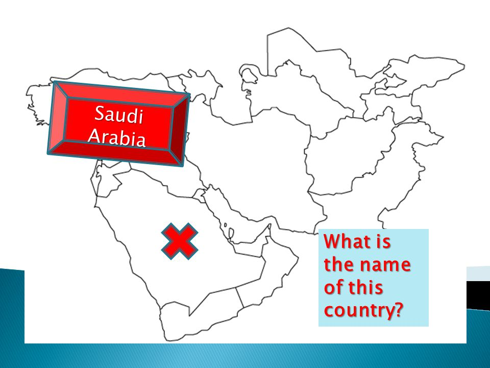 What is the name of this country Saudi Arabia
