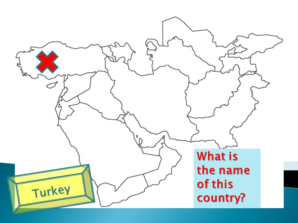 What is the name of this country Turkey
