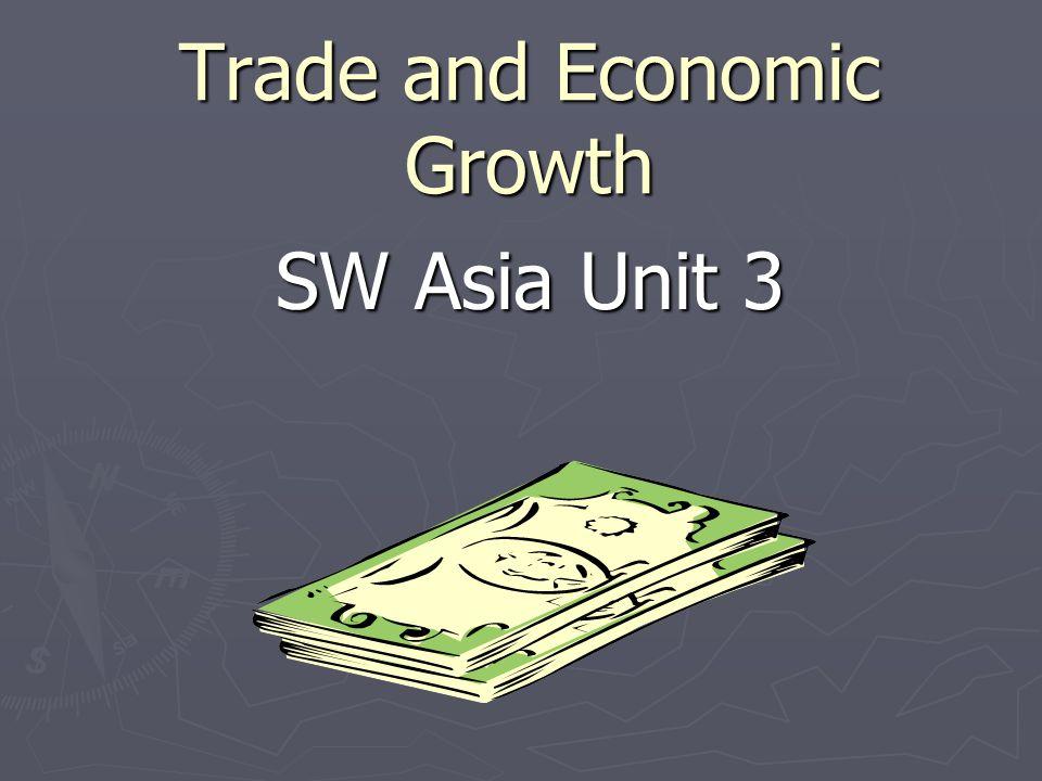 Voluntary Trade Factors involved in Voluntary Trade 1.