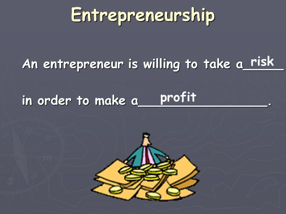 Entrepreneurship Think-Pair-Share Example