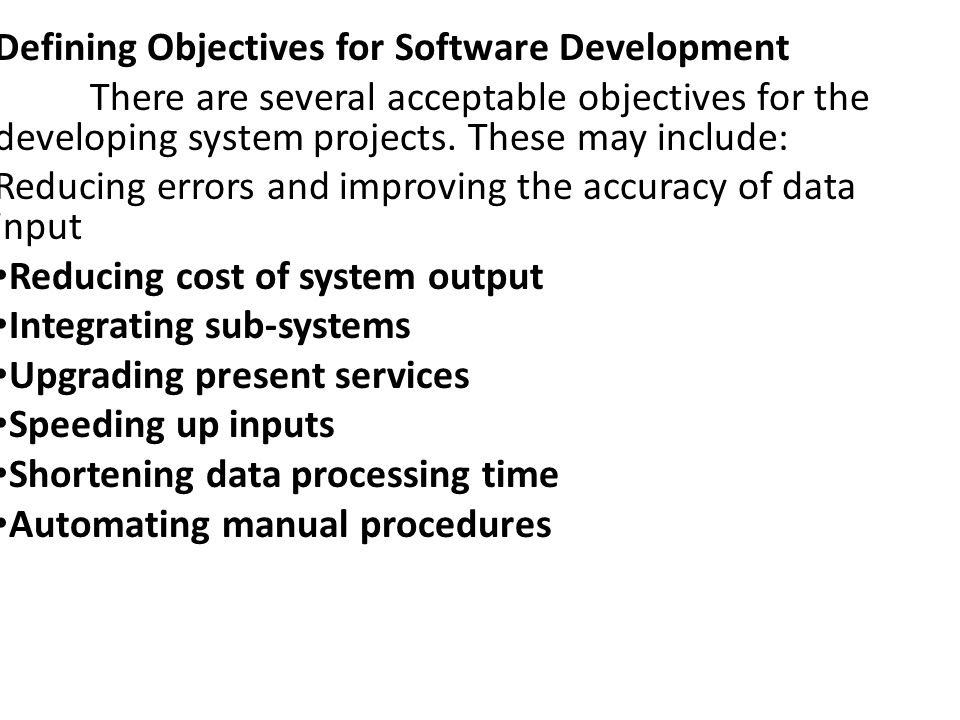 After Selection phase In some SDLC, selection phase is the feasibility study.
