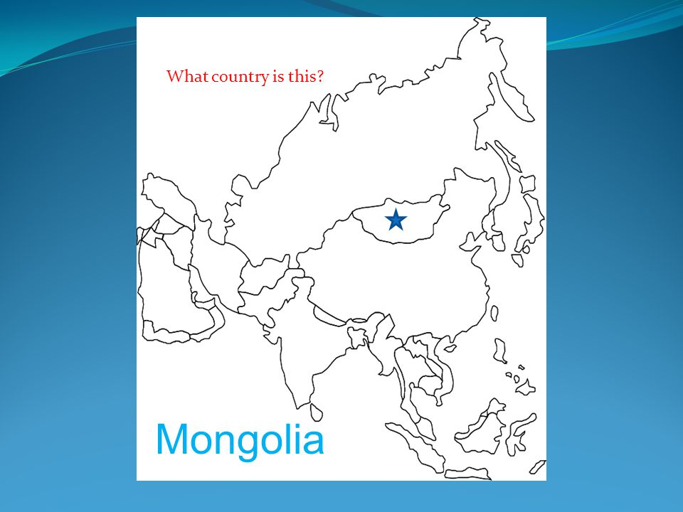 What country is this? Mongolia