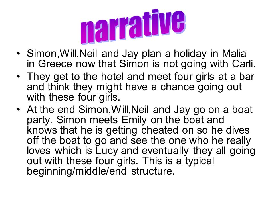 Simon,Will,Neil and Jay plan a holiday in Malia in Greece now that Simon is not going with Carli.