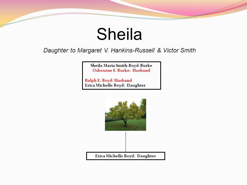 Sheila Daughter to Margaret V.