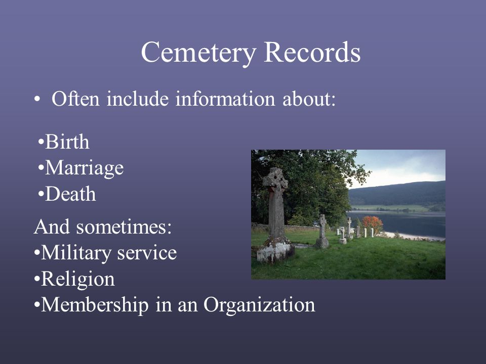 How to Find Transcriptions of Cemetery Records in the Family History Library and elsewhere…