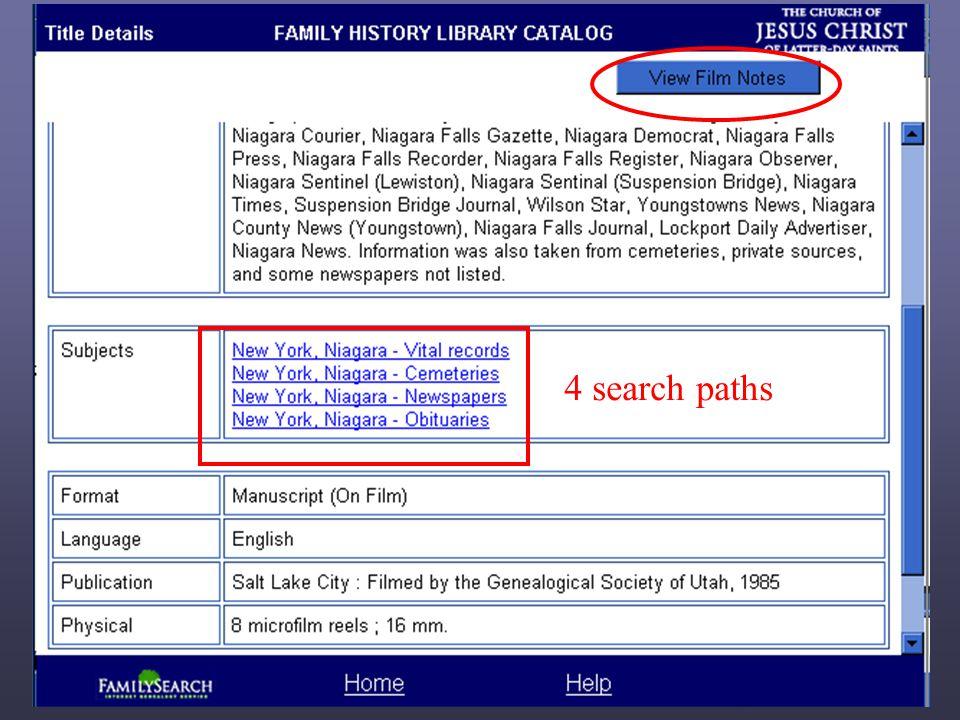 4 search paths