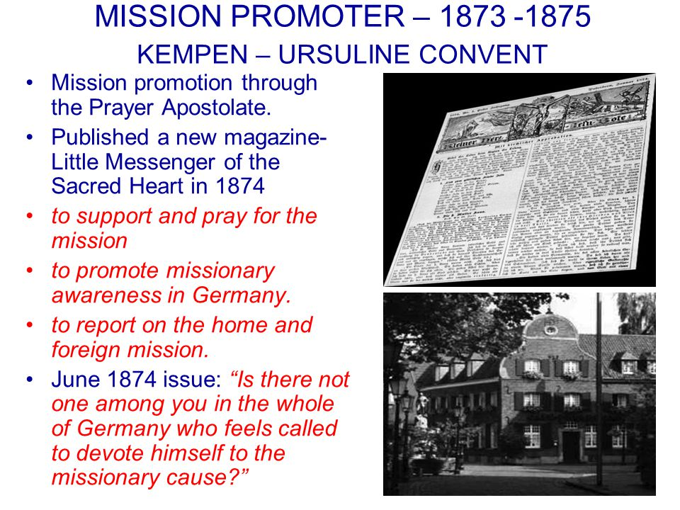 STEYL SVD MISSION BROTHERS The growth of Steyl Congregations, constructions, expansion, finances in Europe and in the missions were done by the selfless dedicated and services of the Brothers.