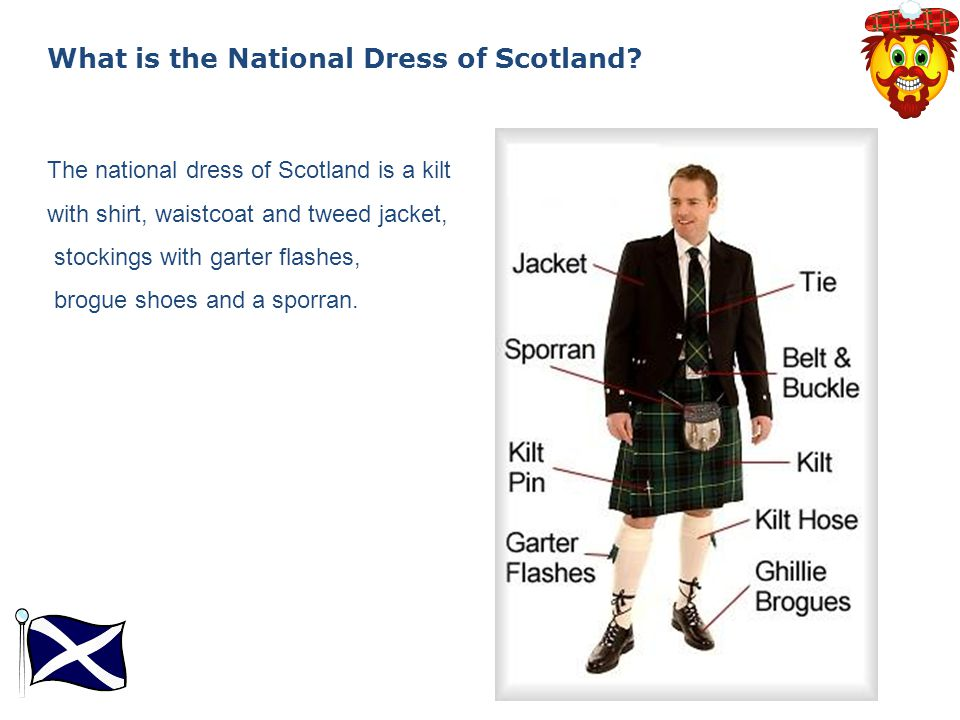 What is the National Dress of Scotland.