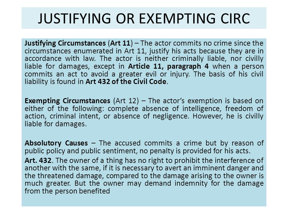 KINDS OF MITIGATING CIRC.Ordinary MC – Lowers the penalty to the minimum period.