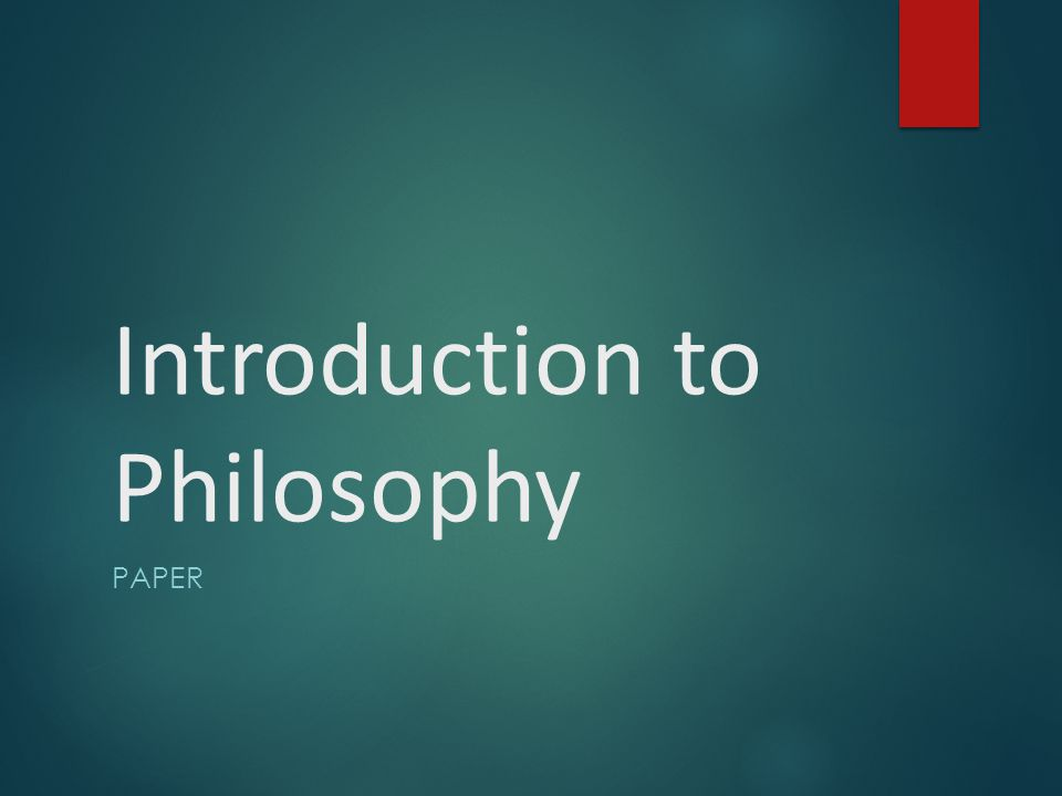 Philosophy phd thesis