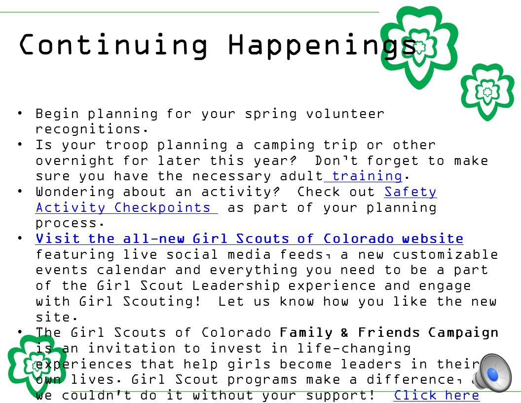 Program Updates STEM Video Game Challenge: Girl Scouts of the USA is proud to be an outreach partner with the Joan Ganz Cooney Center at Sesame Workshop and E-Line Media to introduce the second annual National STEM Video Game Challenge open to Girl Scouts.