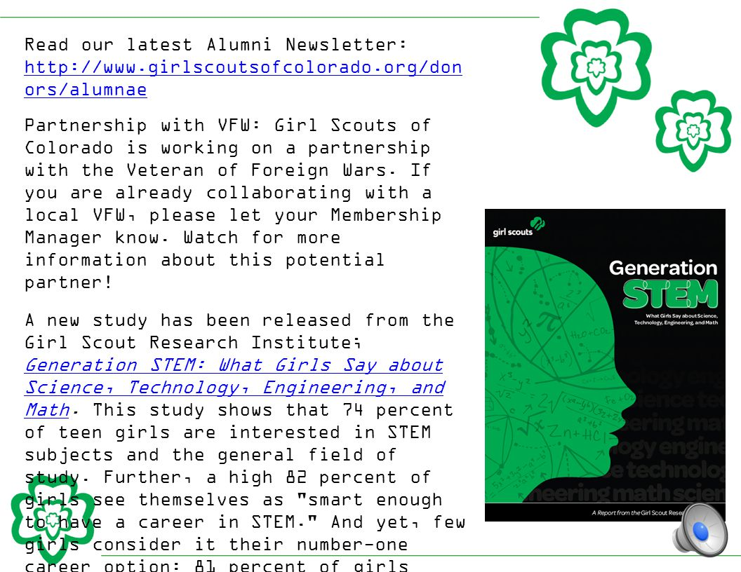 There is a new patch program for every level of Girl Scouts called Include ALL Girls .