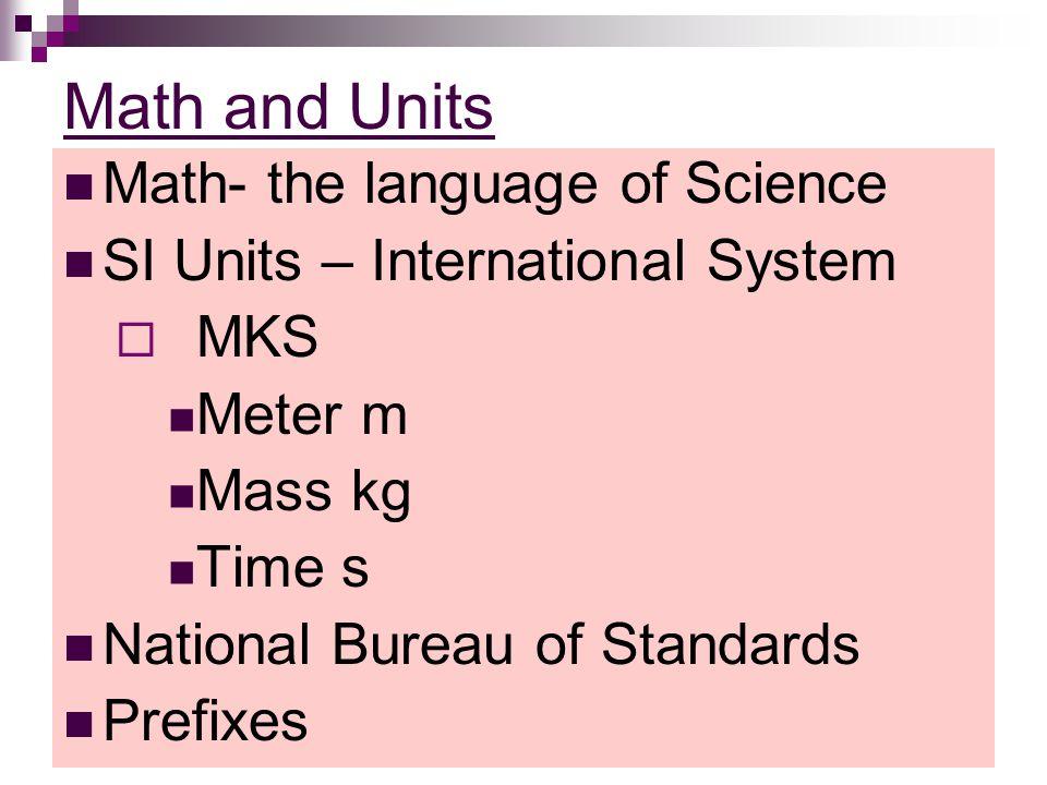 SI Unit Prefixes NameSymbol giga-G10 9 mega-M10 6 kilo-k10 3 deci-d10 -1 centi-c10 -2 milli-m10 -3 micro-μ10 -6 nano-n10 -9 pico-p10 -12
